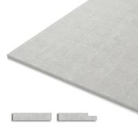 Гипсоволокнистый лист влагостойкий (ГВЛВ) Кнауф 2500х1200х12,5 3 кв.м.