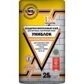 Кладочно-монтажный клей Юнис Униблок 25 кг